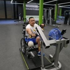 Как работает первый в Казахстане Паралимпийский тренировочный центр
